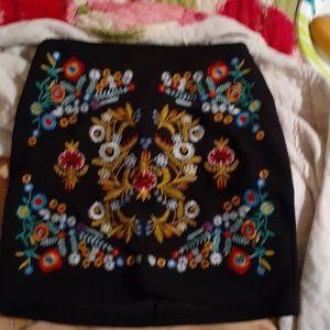Shein Embellished Mini Skirt